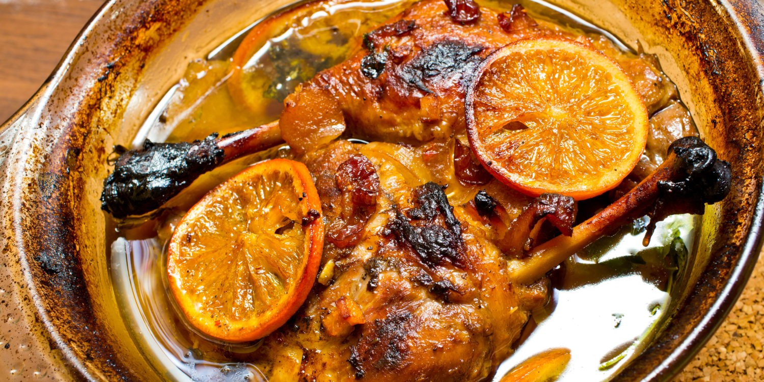 Simple, Delicious, Duck with Orange.