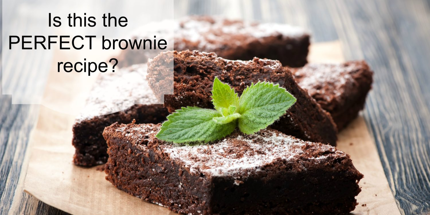 Fun Find Friday - A Brownie Recipe!
