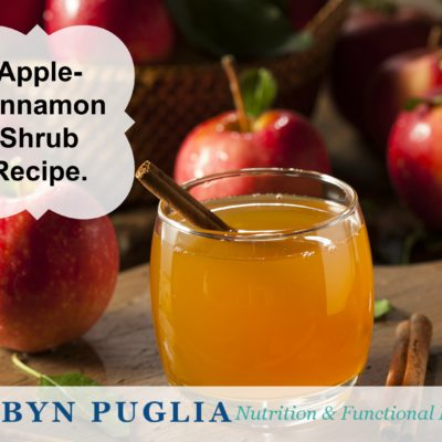 Apple-Cinnamon Shrub