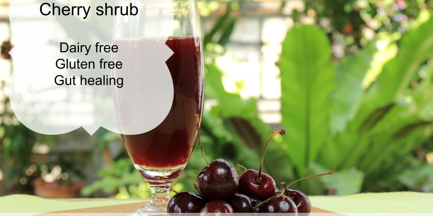 Cherry shrub