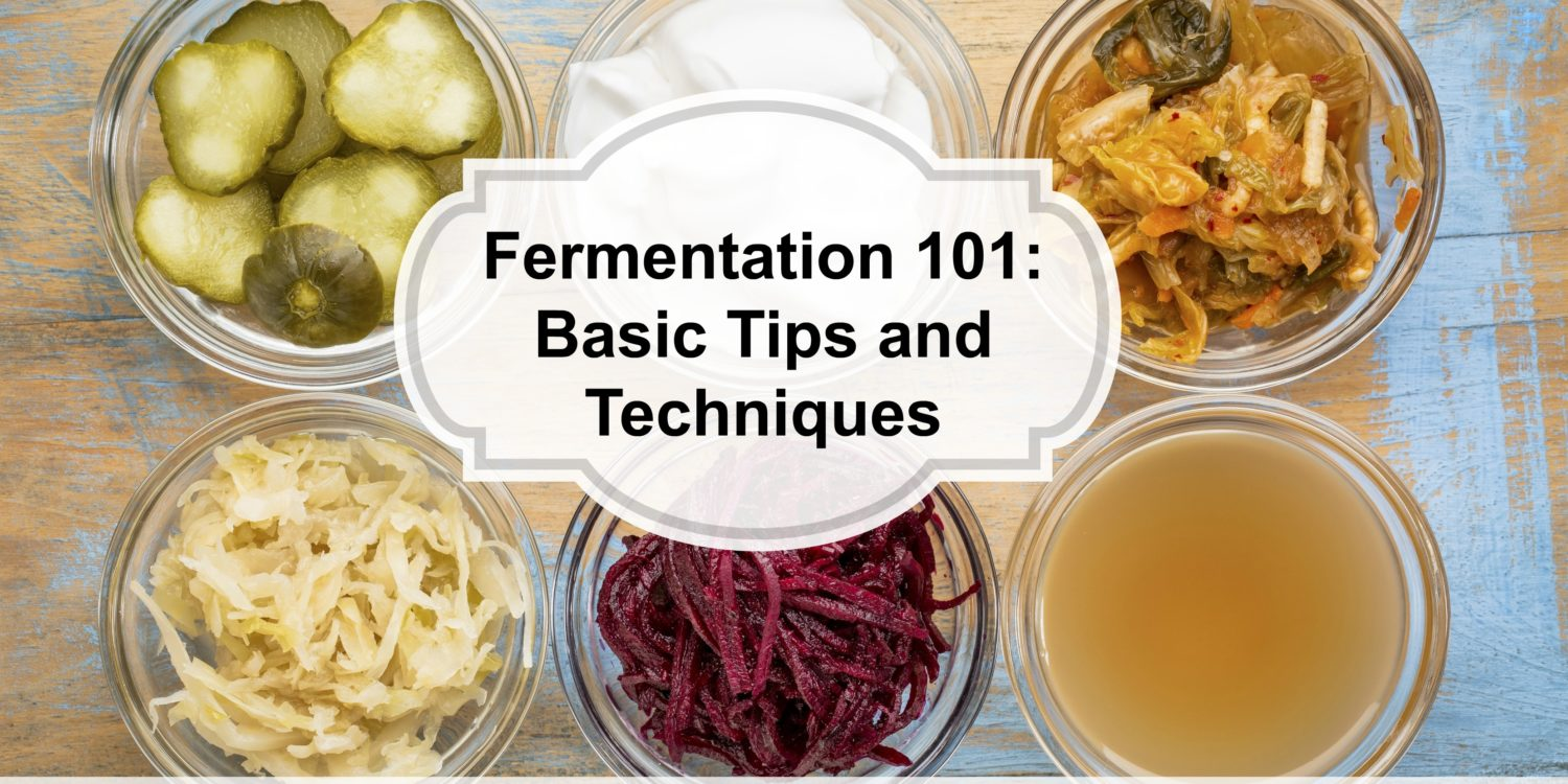 Fermentation Basics and Simple Sauerkraut Recipe.