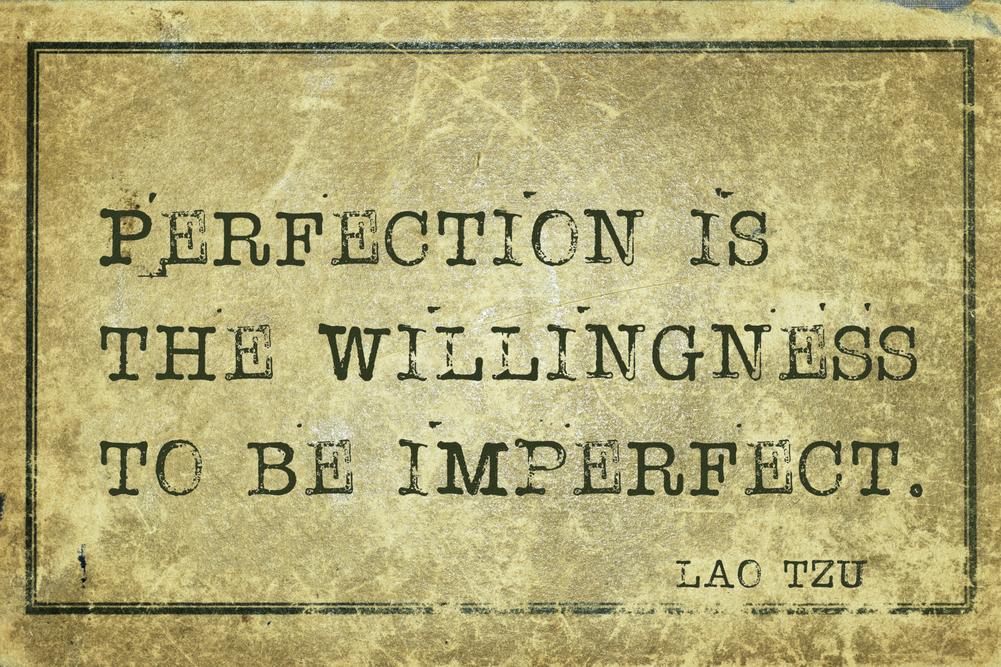 Don't let perfection get in the way of good enough. RobynPuglia.com