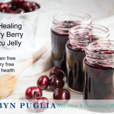 Gut Healing Cherry Berry Kudzu Jelly.
