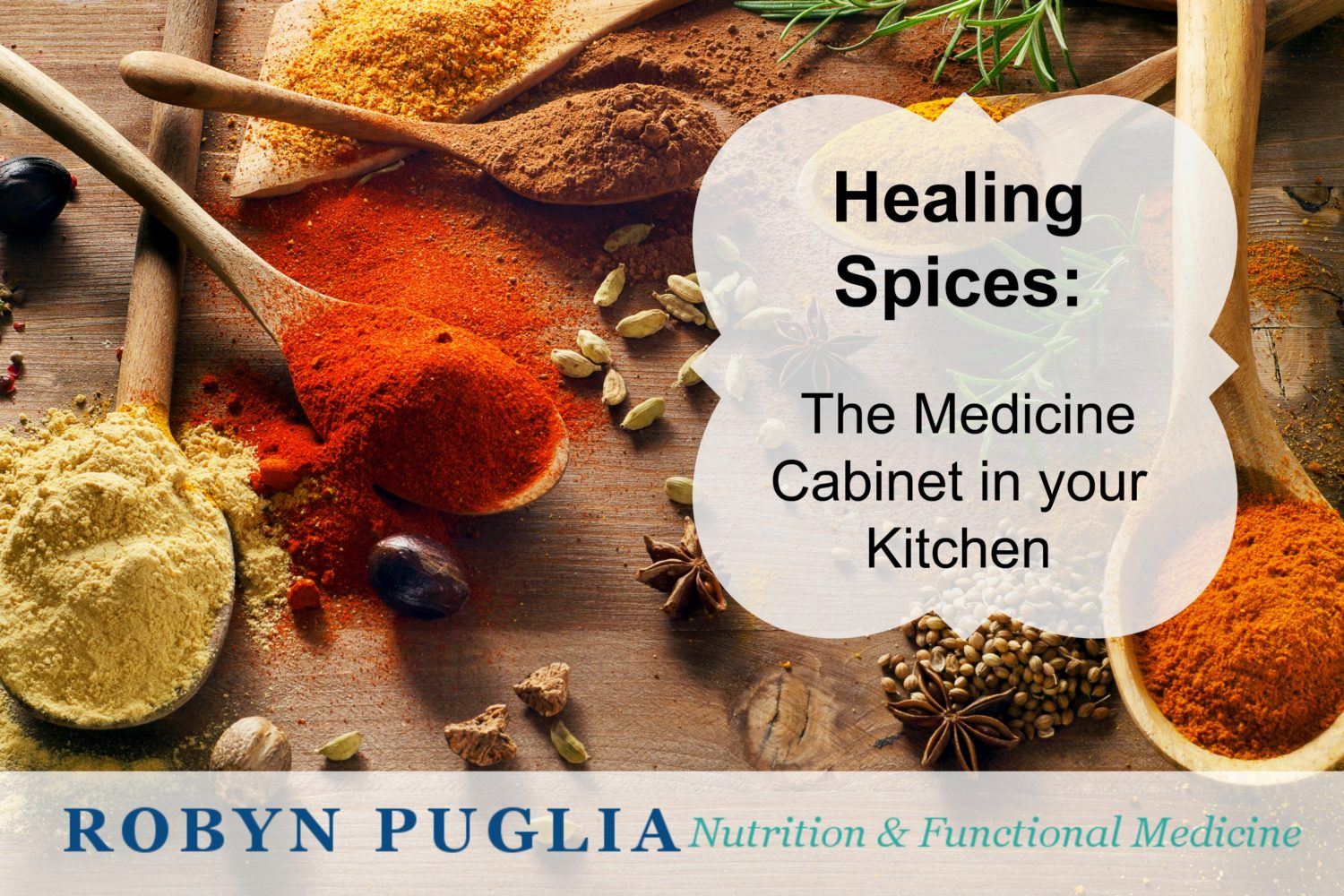 Fun Find Friday - Healing Spices, the medicine cabinet in your kitchen.