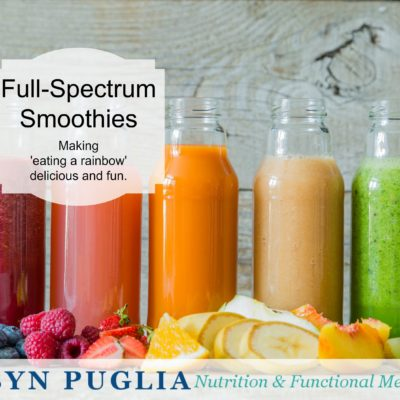 Full Spectrum Smoothies. Making 'eating the rainbow' delicious and fun.
