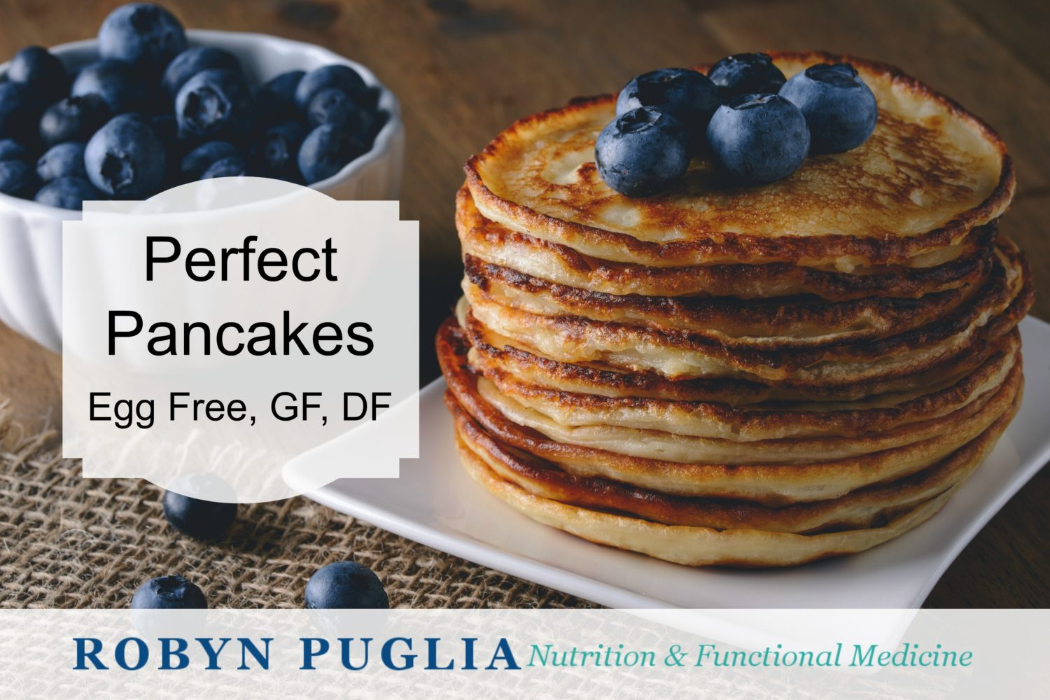 Perfect Vegan Gluten Free Pancakes