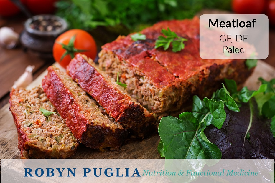 Meat Loaf.  A healthy, allergen-free, take on a family favourite.