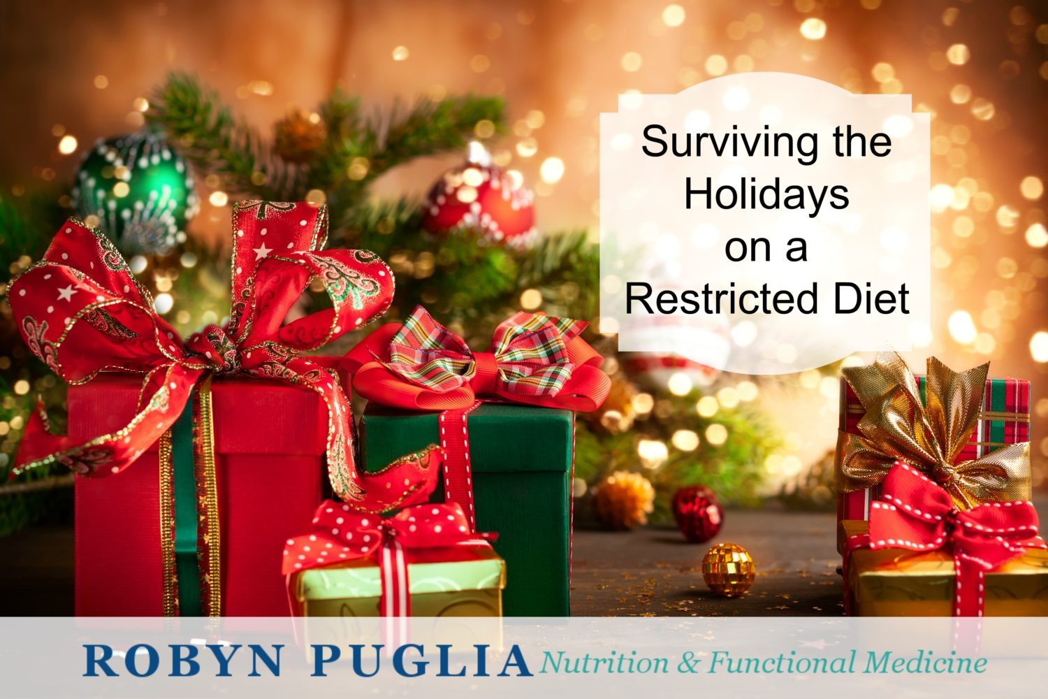 Surviving the holidays on a restricted diet