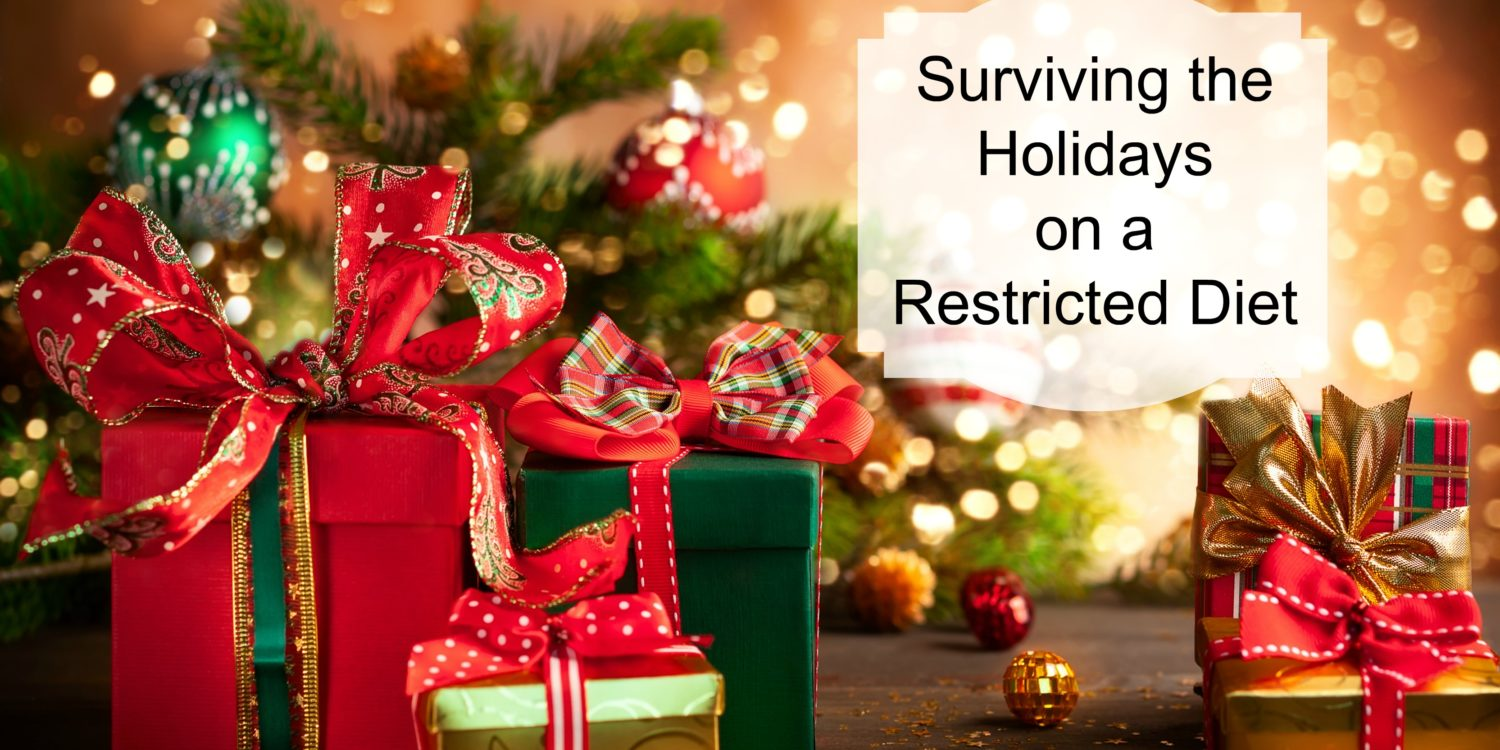 How To Survive The Holidays on a Restricted Diet