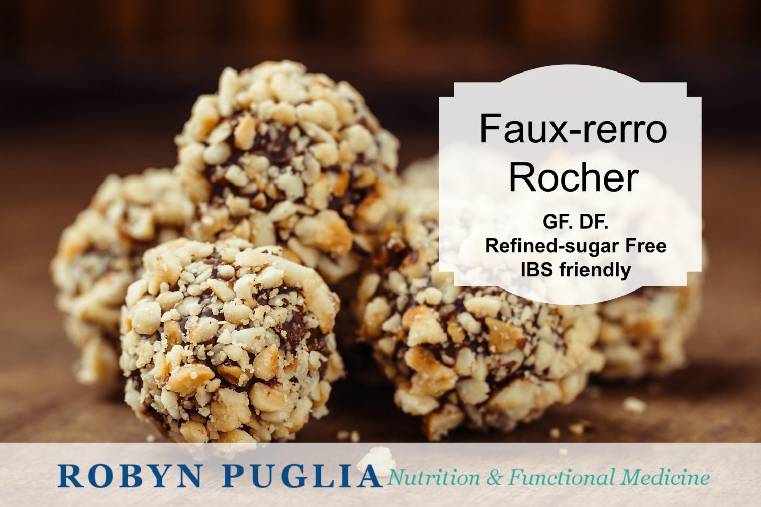 healthy chocolate recipe Fauxrerro Rocher