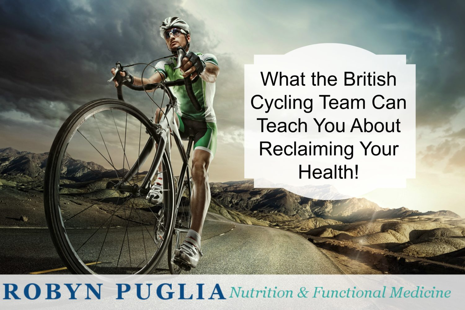 What the British cycling Team can teach you about reclaiming your health